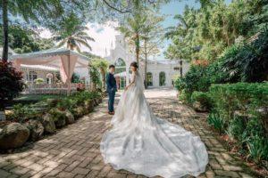 青青花園食尚會館神木庭院廳婚禮記錄