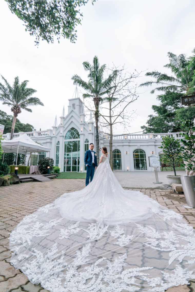 青青花園食尚會館神木庭院婚禮記錄