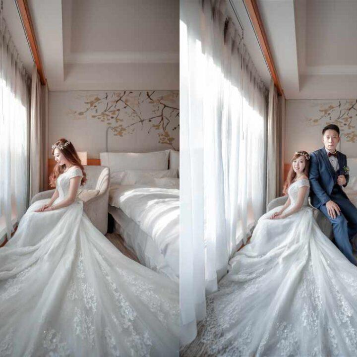 六福皇宮婚禮記錄│紘逸+之勤