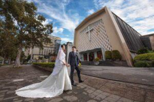 天主教聖家堂證婚天成飯店婚禮記錄