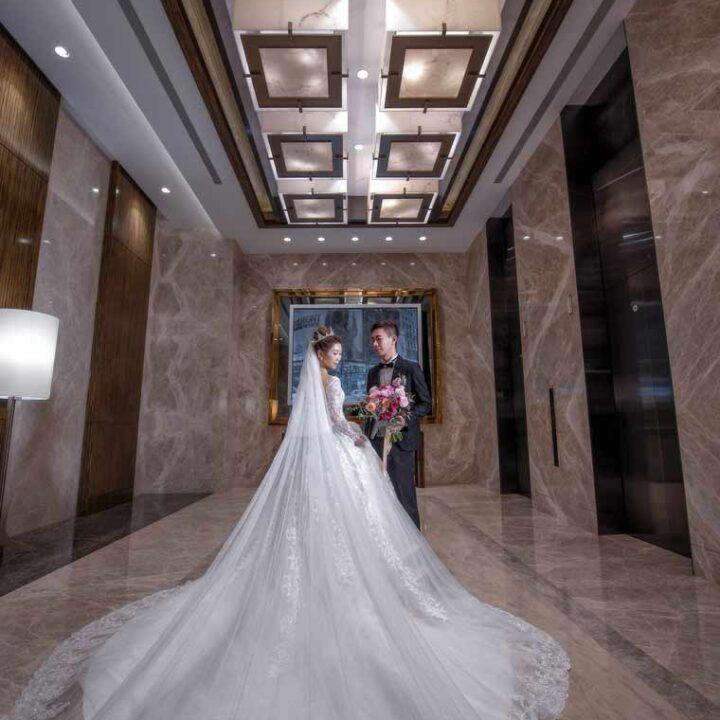 南港六福萬怡酒店宴會廳婚禮記錄│書瑜+冠霖