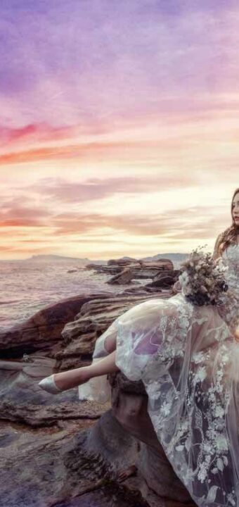 老英格蘭+神秘海岸婚紗拍攝│尚蓉+Calvin