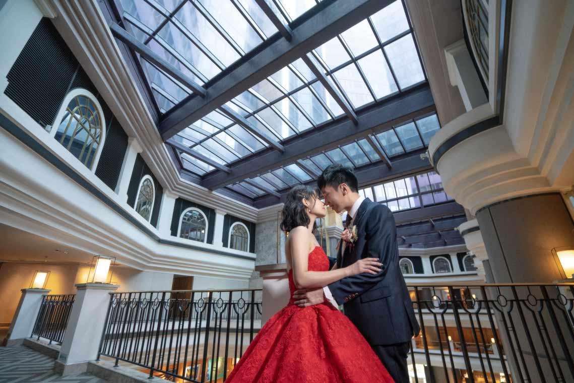 君悅酒店凱悅廳婚禮記錄