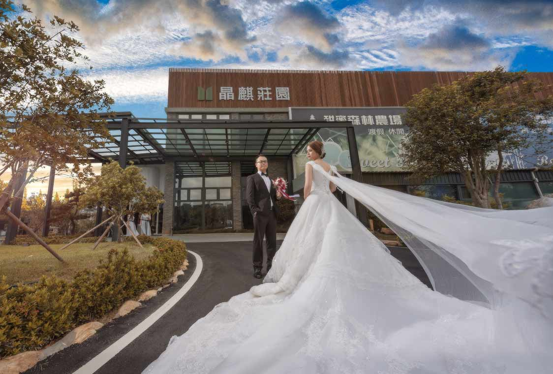 晶麒莊園大地宴會廳婚禮記錄