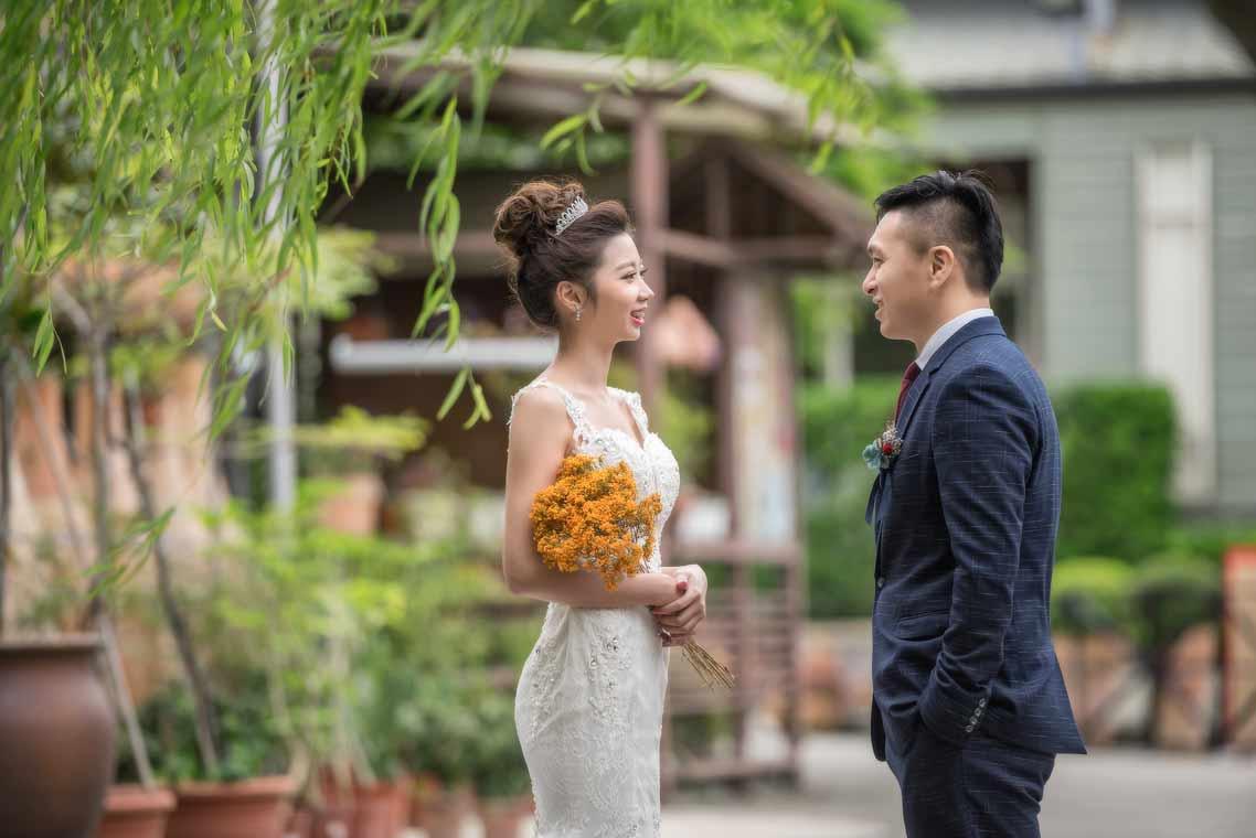 台北花卉村婚禮記錄