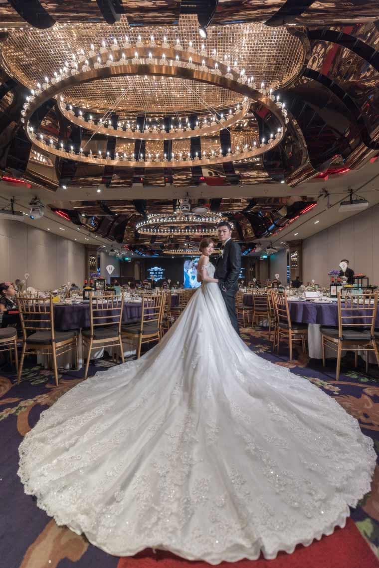 頤品飯店丹紗廳婚禮記錄
