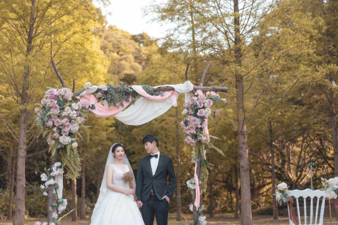 青青花園食尚會館星空之森婚禮記錄